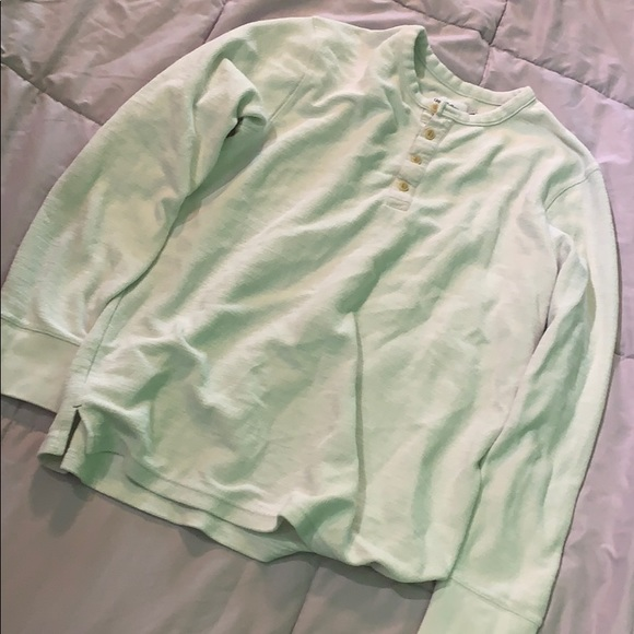 Other - White Long Sleeve - Goodfellow - Large